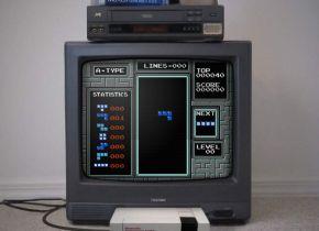 First Person Tetris