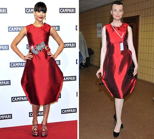 Different Stars Wearing Similar Dresses (76 pics)