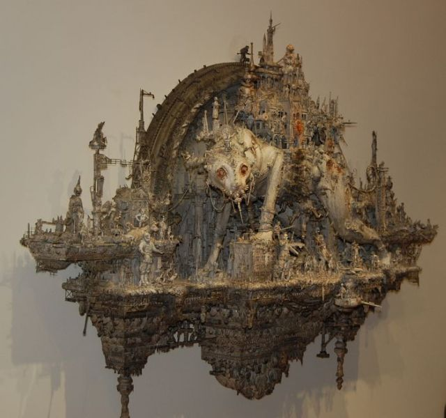 Collection of Mind Puzzling Sculptures (70 pics)