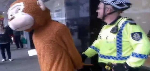 People Arrested While Wearing a Costume (25 pics)