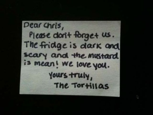 Humorous Lunch Notes (12 pics)
