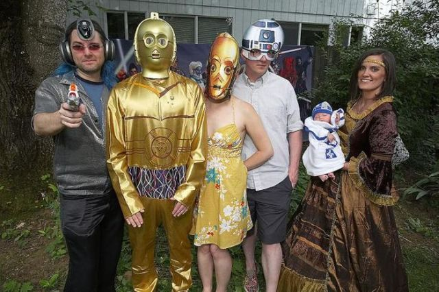 A Star Wars Wedding (15 pics)