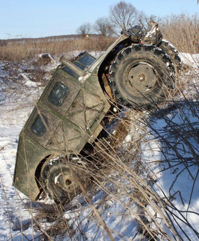 A Homebuilt Russian Hummer (29 pics)