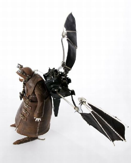 Awesome Sculptures a la Steampunk (250 pics)
