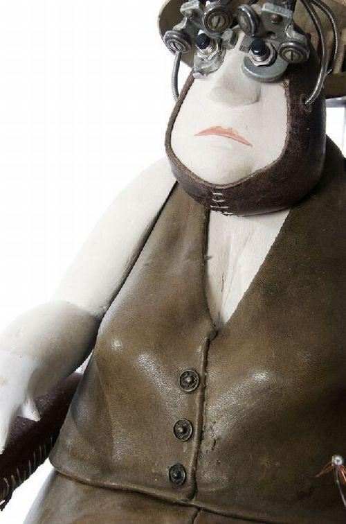 Awesome Sculptures a la Steampunk (250 pics)