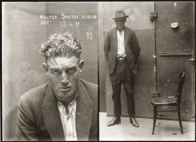Mug Shots from the Past. Part 2 (32 pics)