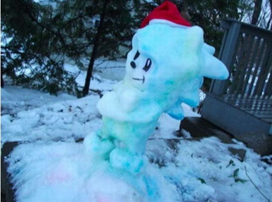 Awesome Comic Book and Sci-Fi Snow Sculptures (12 pics)