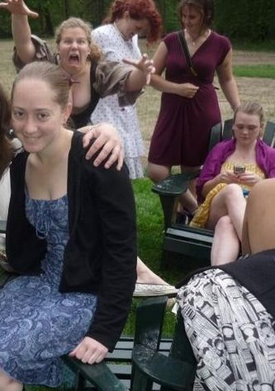 Photobombs Of Girls (46 pics)