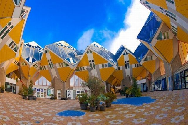 A Kaleidoscope of Architecture (59 pics)