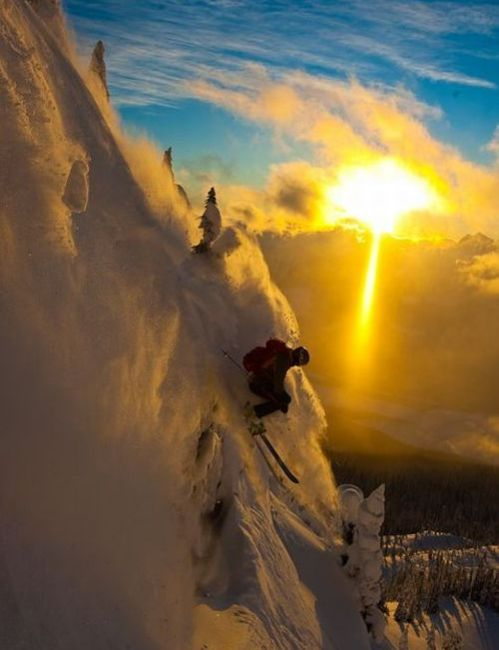 The Most Beautiful Downhill Ski  (9 pics)