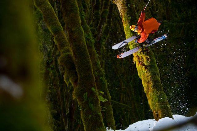 The Most Beautiful Downhill Ski  (9 pics)