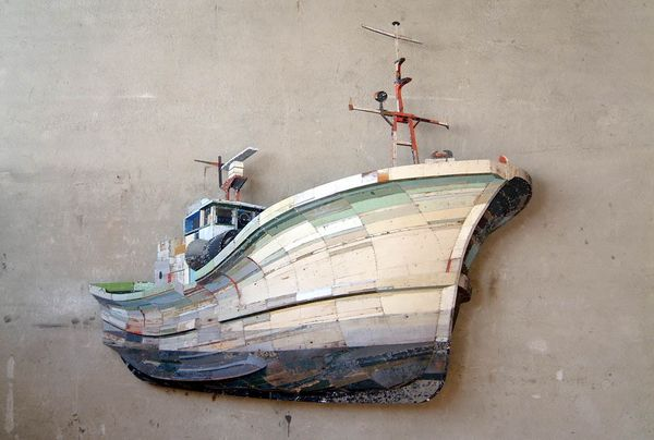 Wooden Sculptures from Ron Van Der Ende (14 pics)