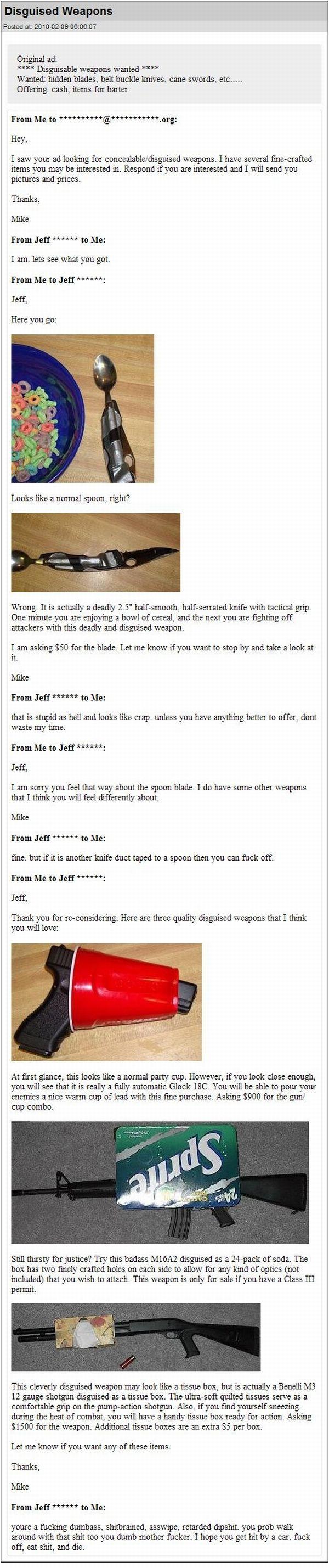 Funny Gun Disguises