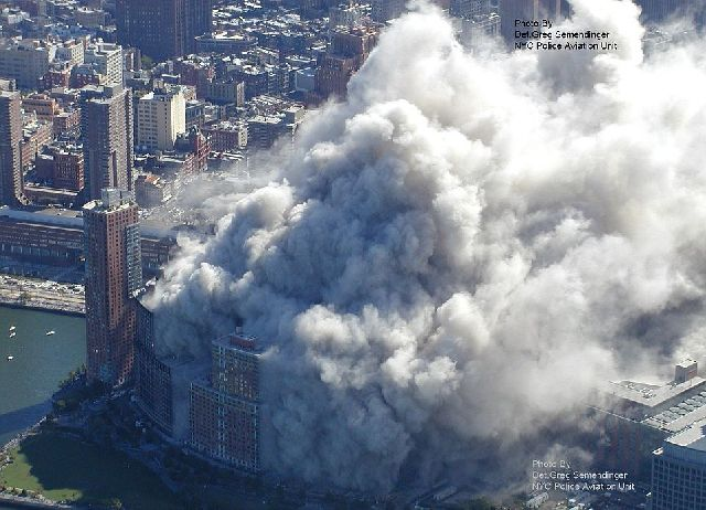 New Aerial Pictures of 9/11 Attacks in New York (12 pics)