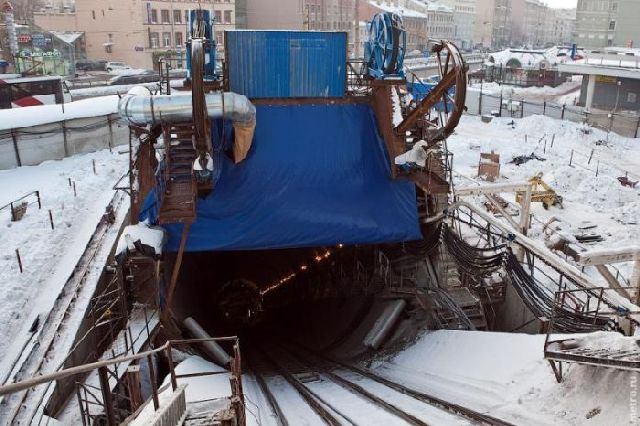 Subway Construction in Russia (17 pics)