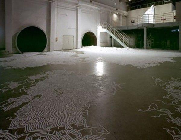 Salt Labyrinths (7 pics)