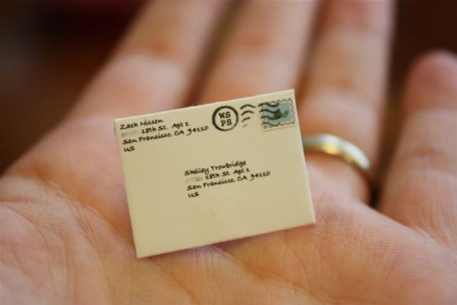 The Smallest Postal Service Ever? (10 pics)
