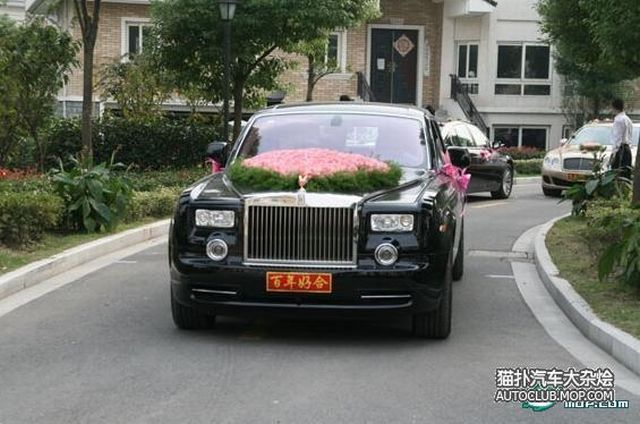 Exotic Chinese Wedding Rides (24 pics)