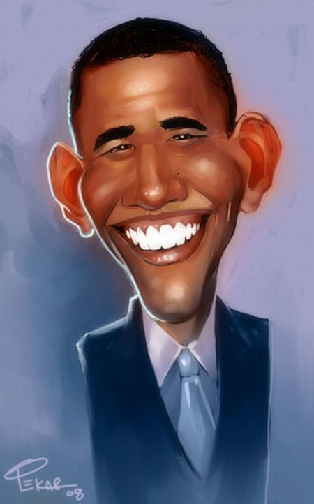 Obama Drawings (23 pics)