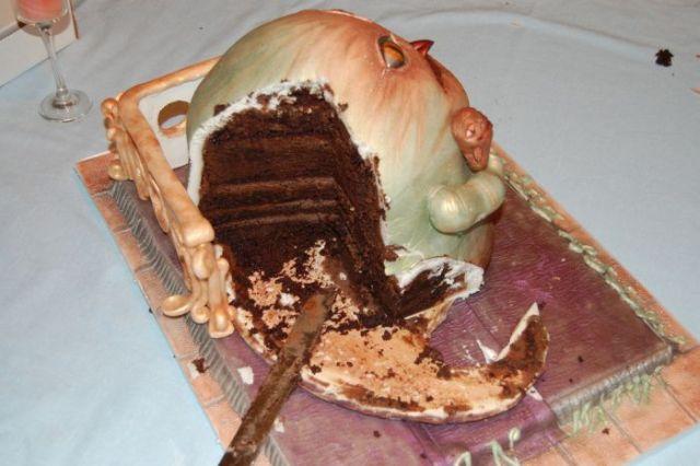 Jabba the Cake (6 pics)