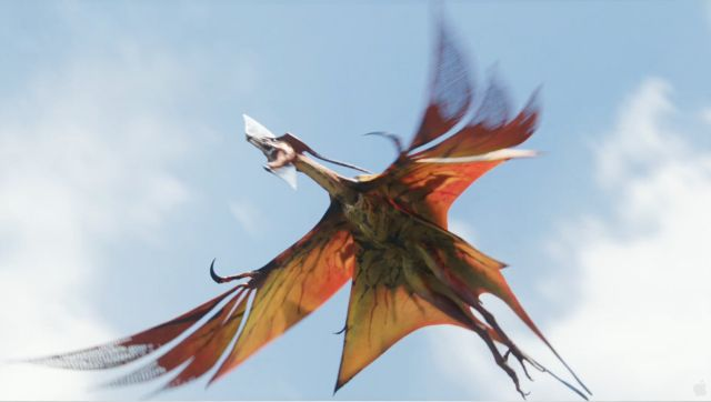 Tiny Version of flying Dragon from Avatar (6 pics)