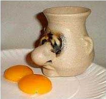 Humorous Ways To Separate Egg Whites From The Yoke (10 pics)