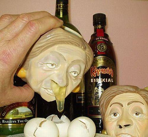 Humorous Ways To Separate Egg Whites From The Yoke (10 pics)