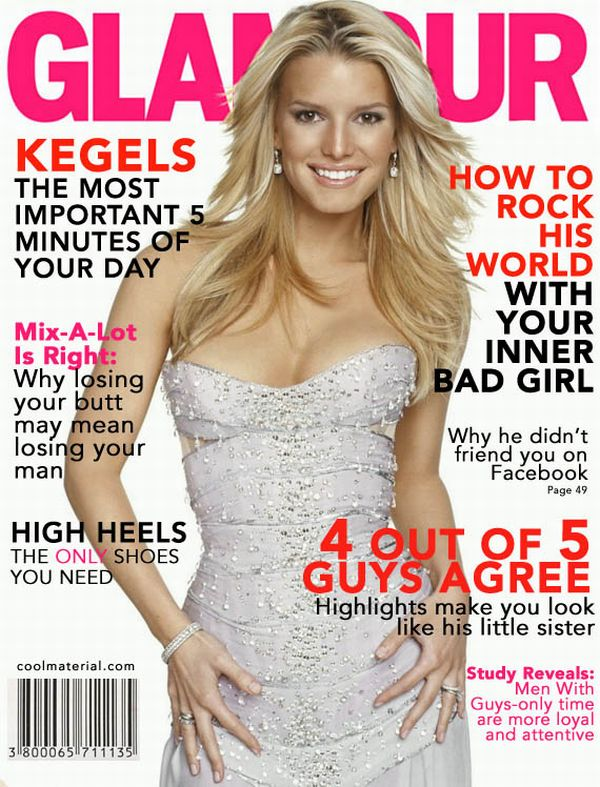 What If Women's Magazines Were Written By Men? (5 pics)