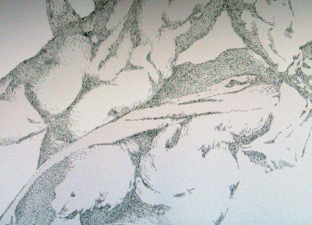 Lukisan ini mengunakan ubat stapler