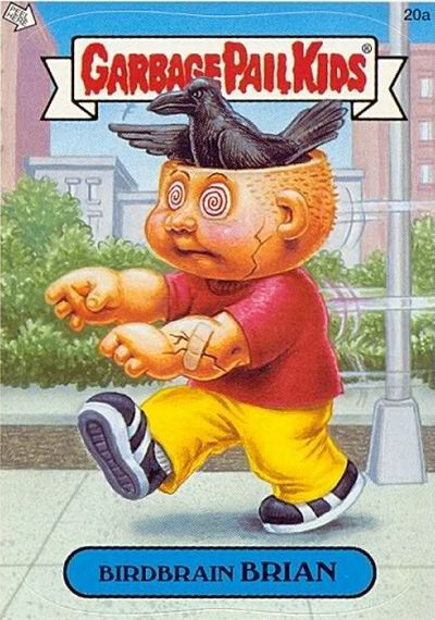 It's Those Ugly Garbage Pail Kids Again (25 pics)