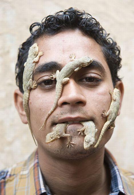 The Indian 'Lizard Boy (5 pics)