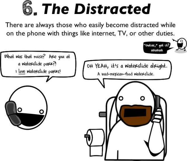 10 Reasons to Avoid Talking on the Phone (11 pics)