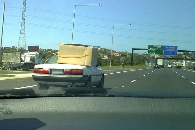 Funnies On The Road (35 pics)