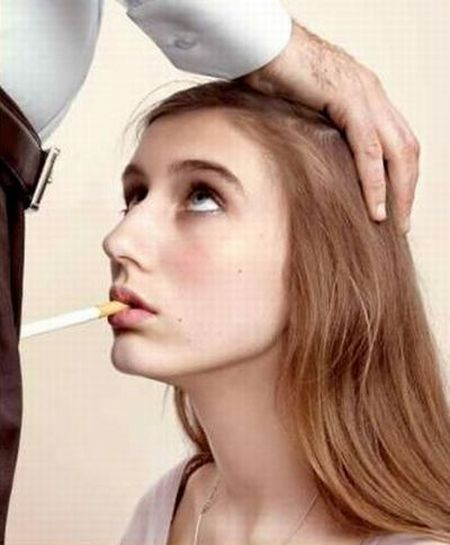 Smoking = Blow Job (3 pics)
