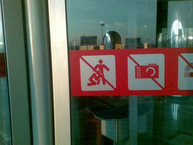 What Does this Sign Forbid? (2 pics)