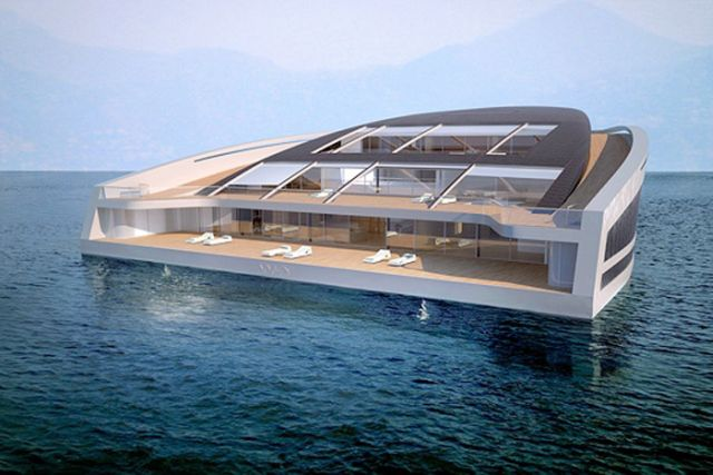 WHY, Incredible Yacht-Villa (10 pics)