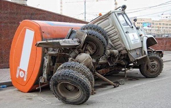 Unique Vehicle Situations (40 pics)