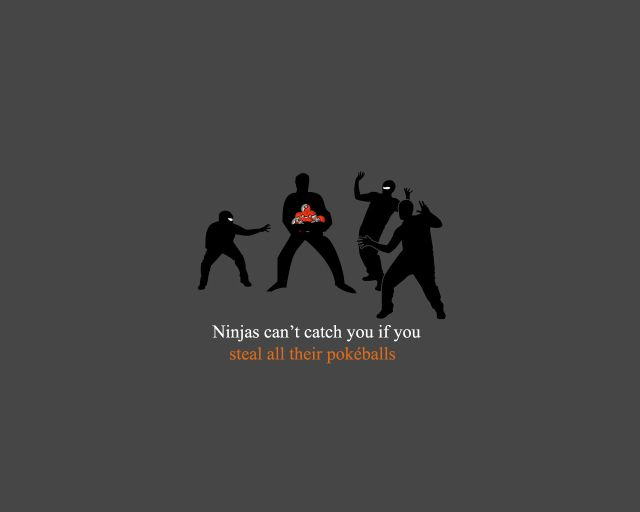 Ninjas Can't Catch You If… (75 pics)