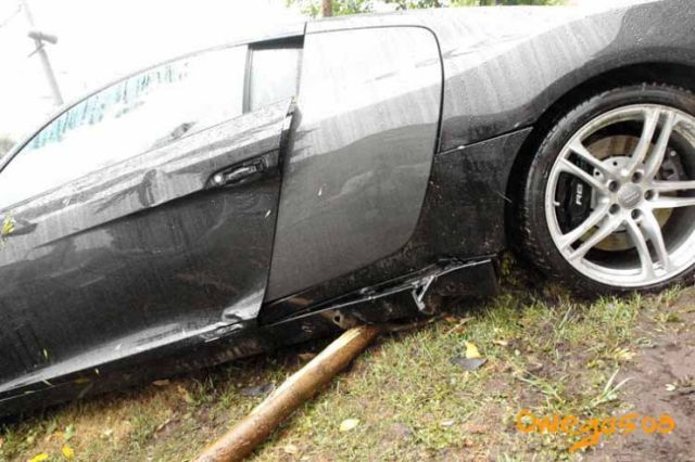Audi Accidents In Moscow (14 pics)