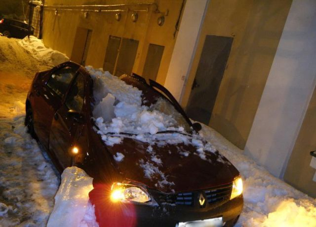 "Snow ""Bombing"" in Russia (18 pics + 1 video)"