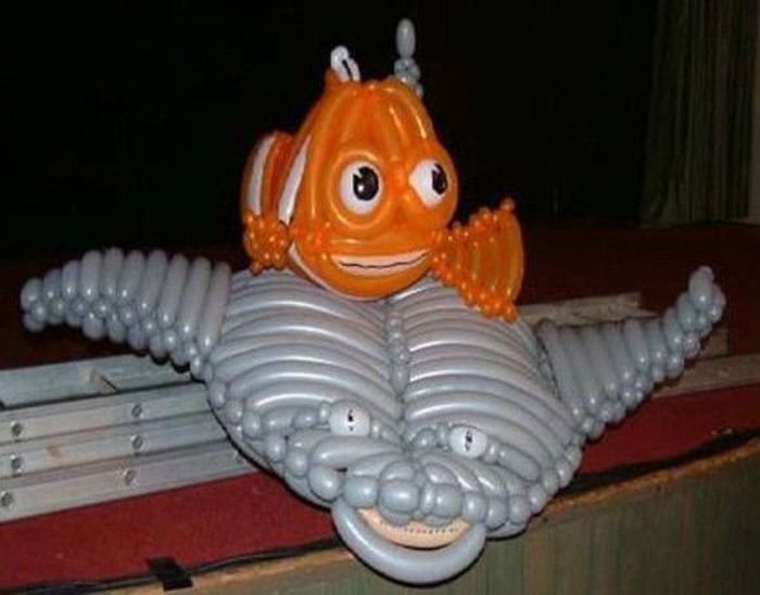 What Can Be Done from Tube Balloons (15 pics)