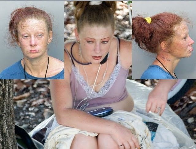 Mug Shots of Women Living in the Street (40 pics)