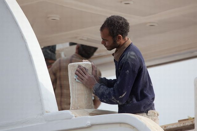 Yacht Construction in Egyptian Way (17 pics)