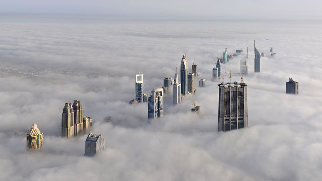 Skyscrapers Piercing the Clouds (23 pics)