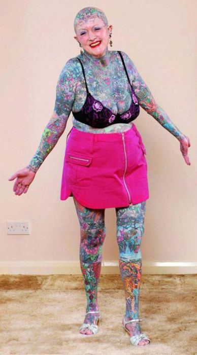 Some of the Worst Tattoos (76 pics)
