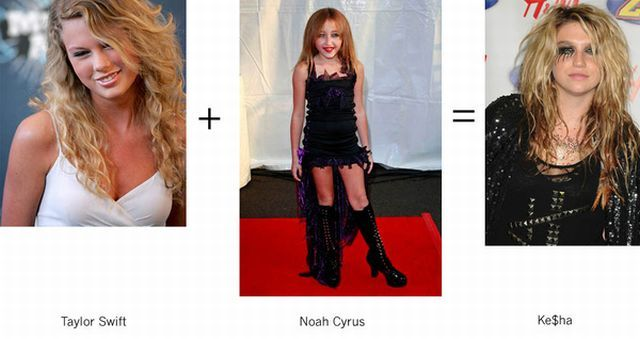 Simple Maths to Make Ke$ha (12 pics)