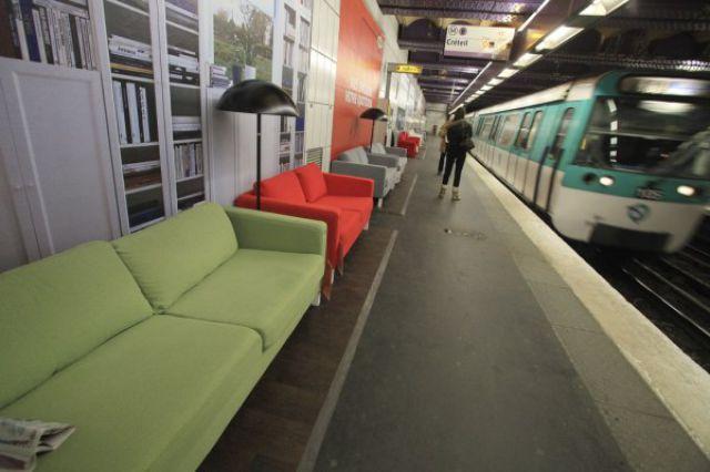 Cool Promotion Idea In Paris Subway (10 pics)