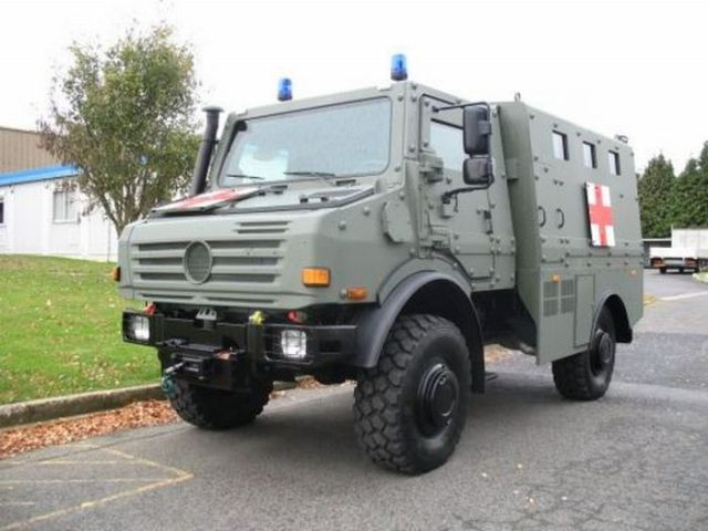 Military Medical Vehicles (46 pics)