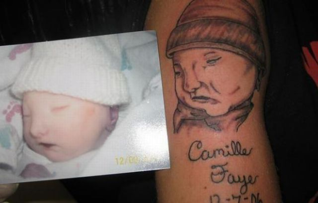 The Ugliest Baby Tattoos (11 pics)