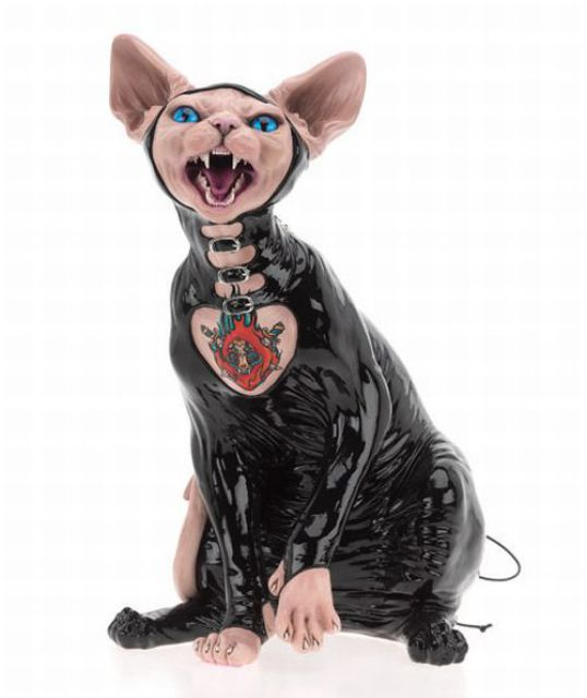 Cats Also Enjoy BDSM! (9 pics)